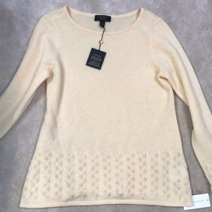NWT Charter Club Cashmere Sweater